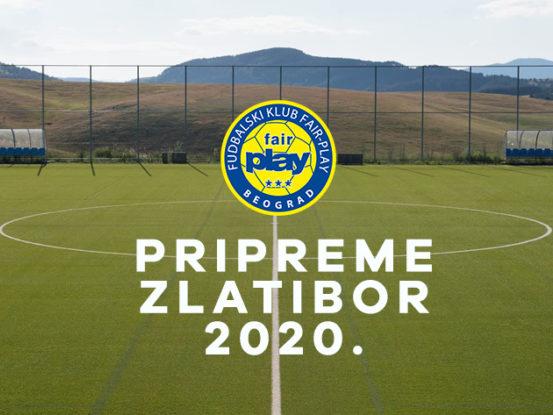 Zlatibor pripreme 2020
